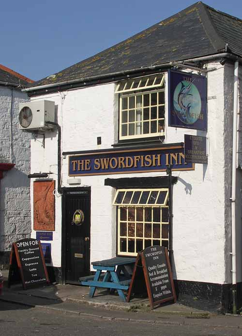 [The Swordfish Inn, Newlyn, Cornwall]