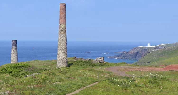 [Levant Mine Chimneys]