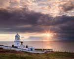 [Pendeen Lighthouse Sunset]