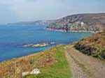[Pendeen Cornwall - Photo of Portheras Cove]