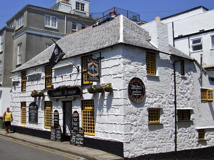 [Penzance - The Admiral Benbow]