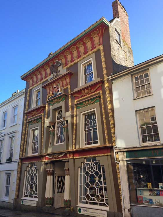 [Penzance - The Egyptian House, Chapel St]