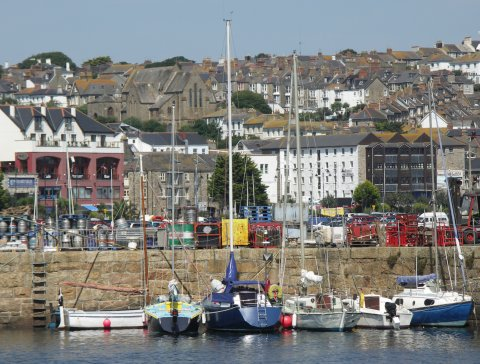 [Photo of Penzance, Penwith, Cornwall - The Harbour]