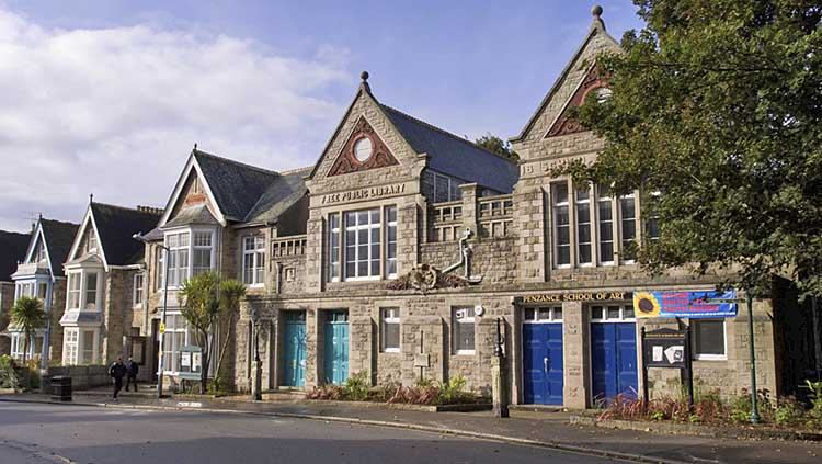 [Penzance - Public Library and School of Art]