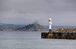 [Lighthouse, with St Michael's Mount]
