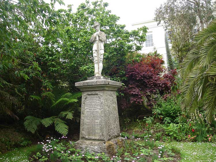 [Penzance Morrab Gardens, Second Boer War Memorial]