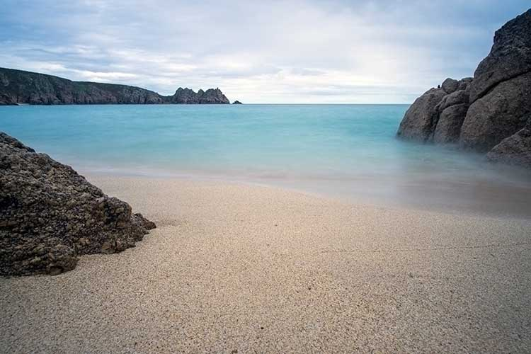 [Porthcurno, Cornwall - Beach and Logan Rock #10]