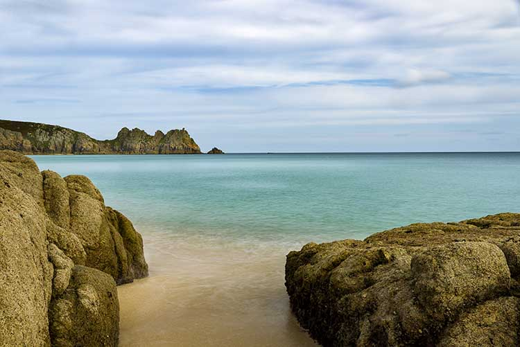 [Porthcurno, Cornwall - Beach and Logan Rock #5]