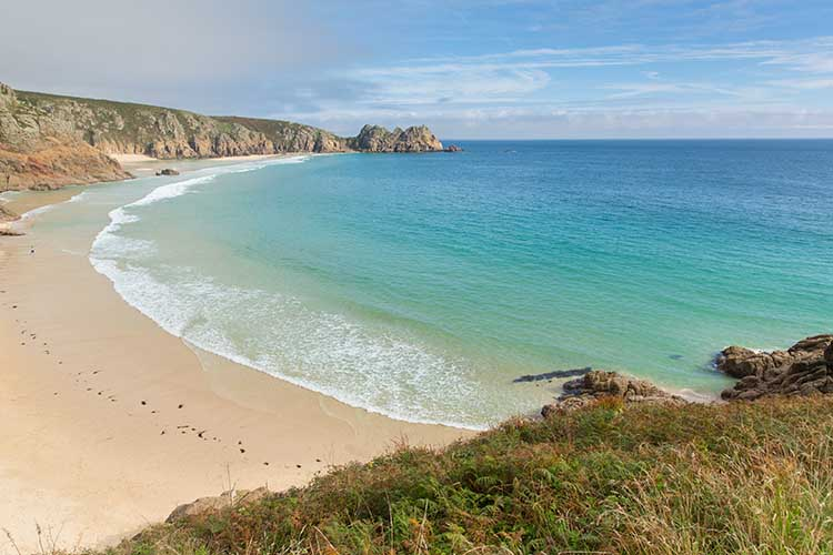 [Porthcurno, Cornwall - Beach and Logan Rock #7]