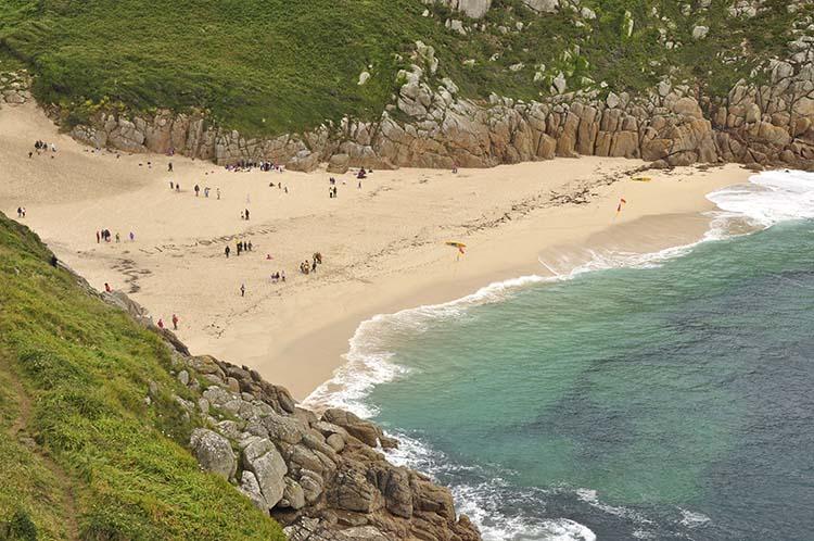 [Porthcurno Beach, Cornwall]