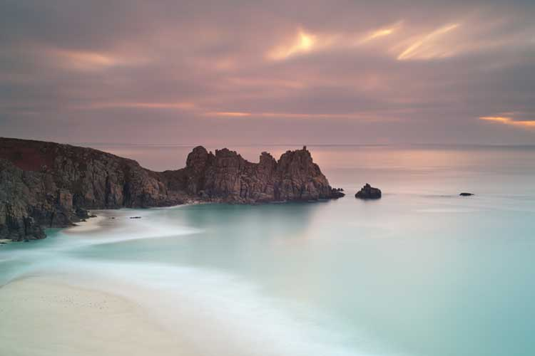 [Porthcurno Logan Rock Sunrise #1]