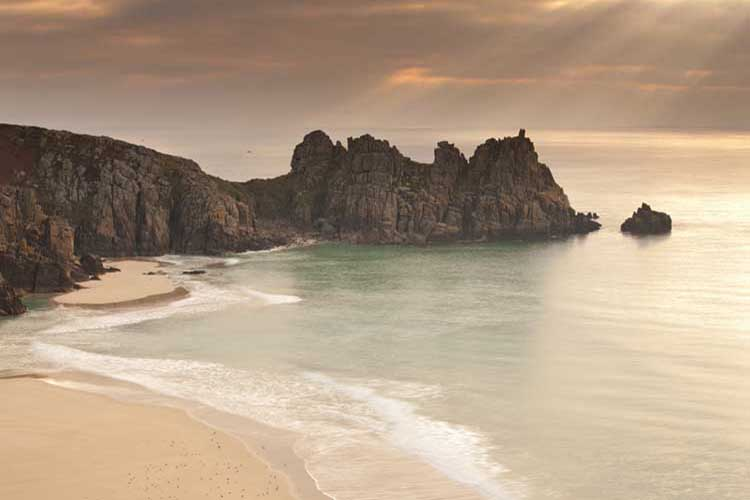[Porthcurno, Cornwall - Logan Rock Sunrise #2]