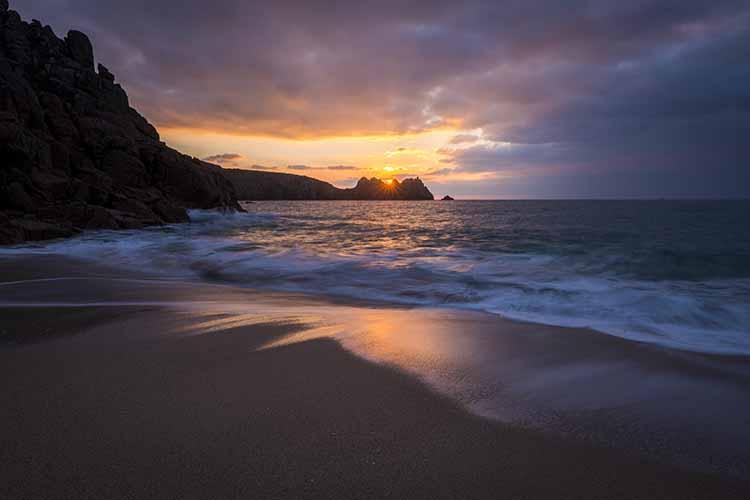[Porthcurno, Cornwall - Logan Rock Sunrise #3]