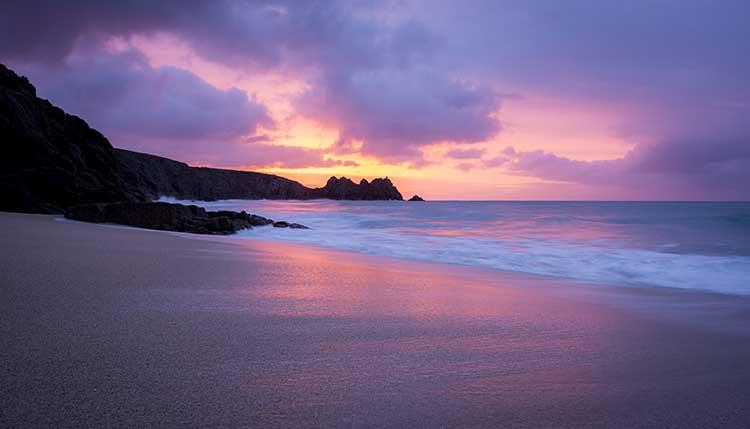 [Porthcurno, Cornwall - Logan Rock Sunrise #6]