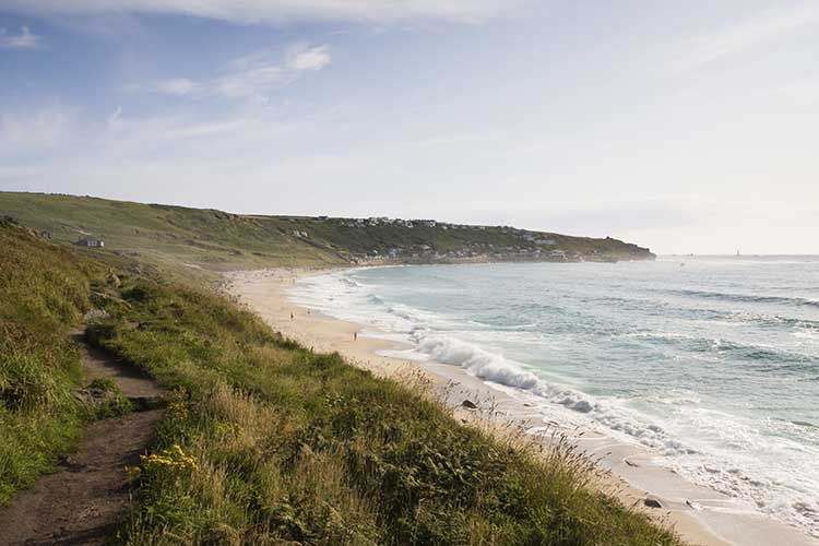 [Sennen Cove, Cornwall - Beach, from the North #2]