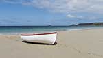 [Sennen Cove - Boat on the Beach]