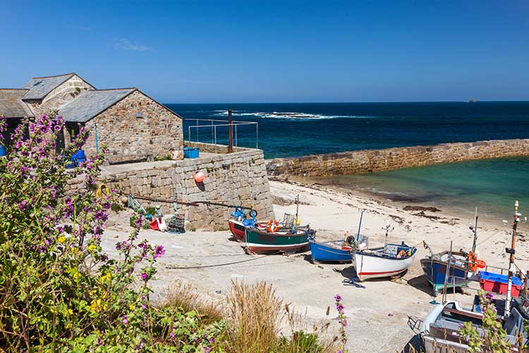 [Sennen Cove - Boats in Harbour #4]