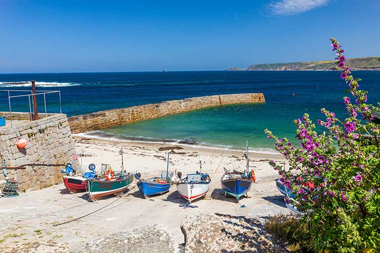 [Sennen Cove, Cornwall - Fishing Boats in the Harbour]
