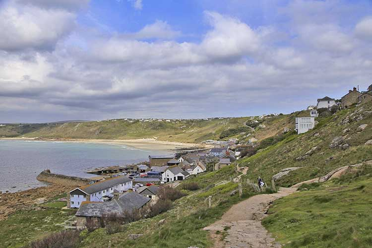 [Sennen Cove, Cornwall - Coast Path from the South #2]