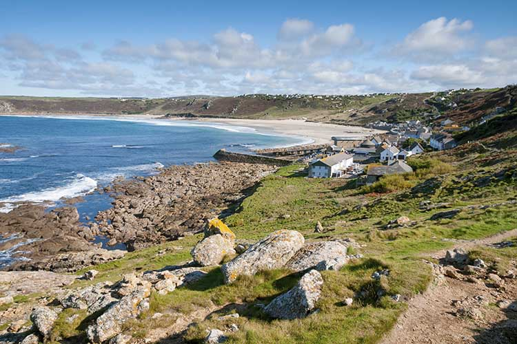 [Sennen Cove, Cornwall - Coast Path from the South #3]