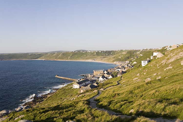 [Sennen Cove, Cornwall - Coast Path from the South #4]