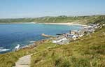 [Sennen Cove - Coast Path from the South]
