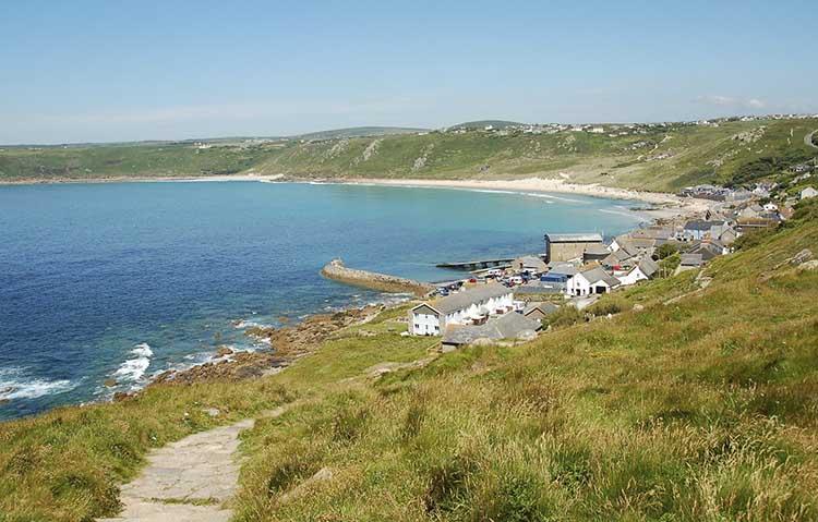 [Sennen Cove, Cornwall - Coast Path from the South]