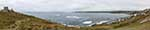 [Sennen Cove - Panorama with Old Lookout Station]