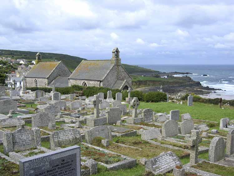 [St Ives - Barnoon Church and Graveyard]