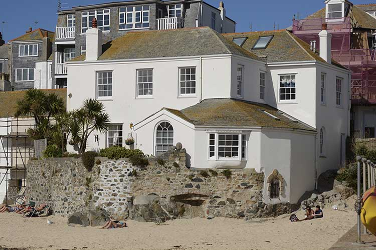[St Ives, Cornwall - Beachfront Houses]