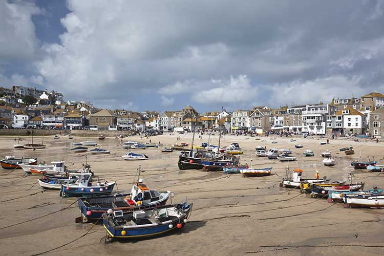 [St Ives - Boats on the Beach #2]
