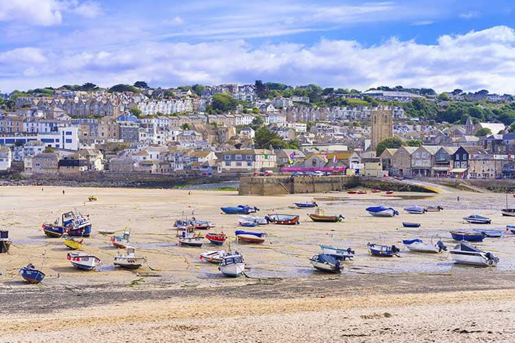 [St Ives - Boats on the Beach #5]