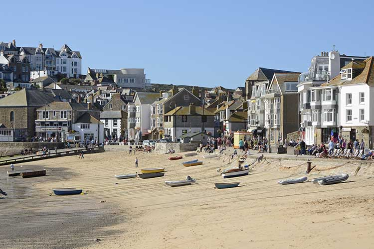 [St Ives - Boats on the Beach #6]