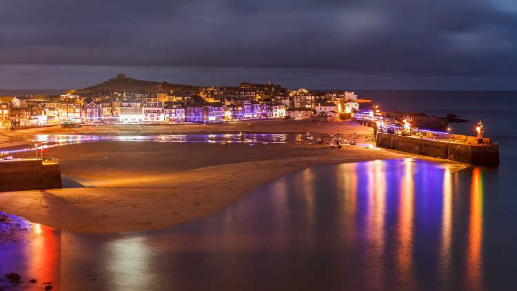 [St Ives, Cornwall - Dusk]