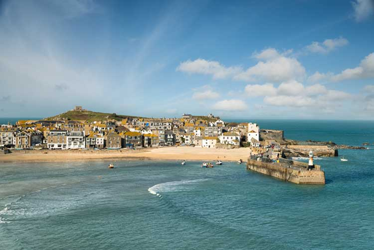 [St Ives Harbour - from The Malakoff]