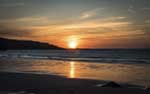 [Porthmeor Beach Sunset]