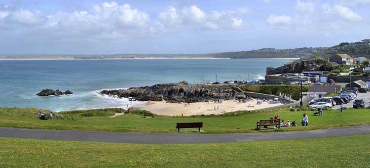 [St Ives, Cornwall - Porthgwidden Beach]