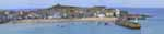 [St Ives Harbour and Island Panorama]