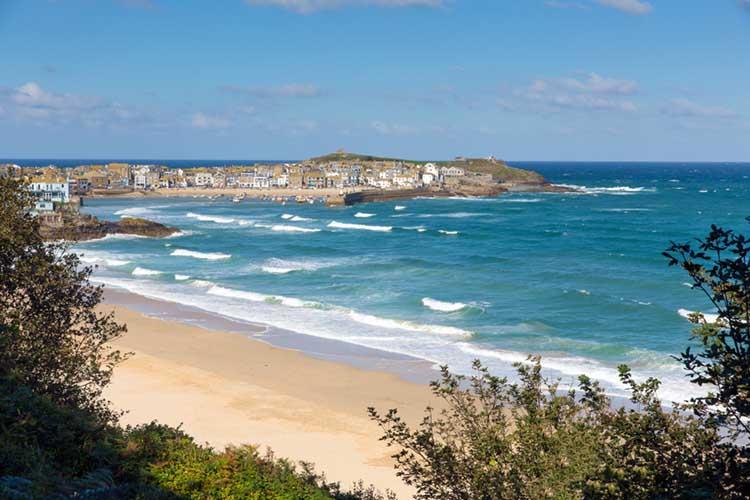 [St Ives, Cornwall - Porthminster Beach]