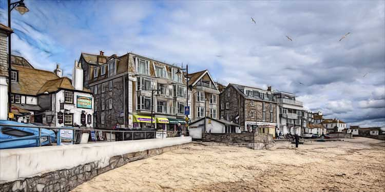 [St Ives - Sloop Inn and Beachfront]