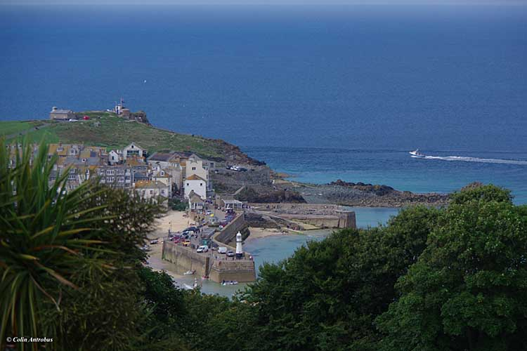 [St Ives - from Tregenna Castle Hotel #1]