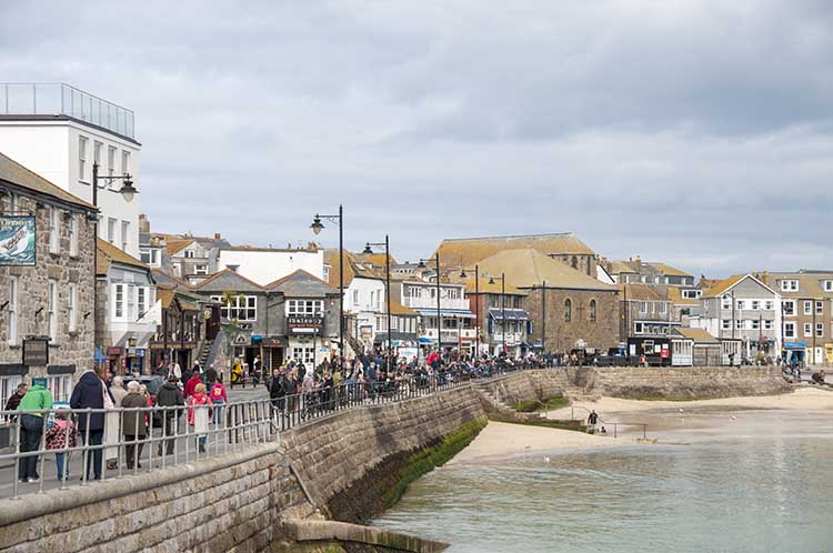 [St Ives, Cornwall - Wharf Rd Waterfront]