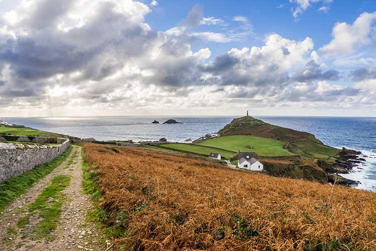 [St Just - Coast Path to Cape Cornwall]