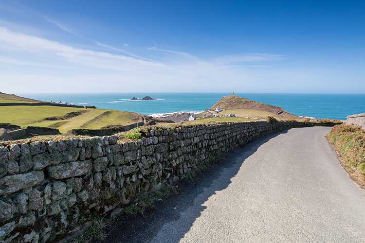 [St Just - Road to Cape Cornwall]