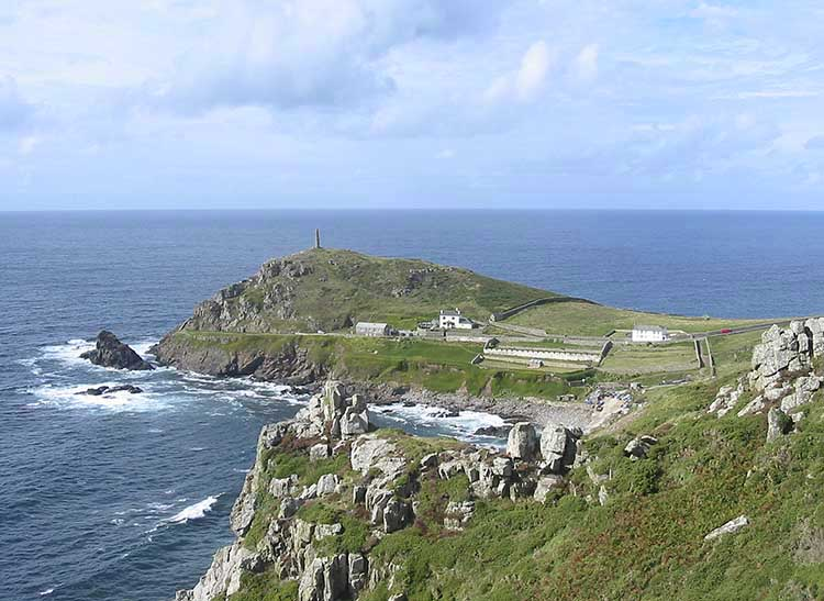[St Just - Cape Cornwall Headland]