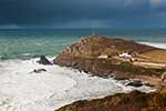 [St Just - Cape Cornwall, Winter Storm]