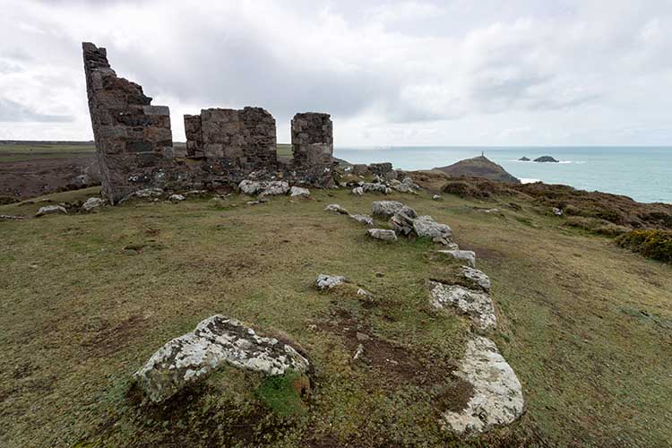 [St Just - Kenidjack Castle Ruins]