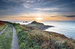 [St Just - Sunset over Cape Cornwall #2]
