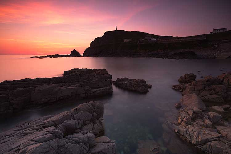 [St Just - Sunset over Cape Cornwall #3]