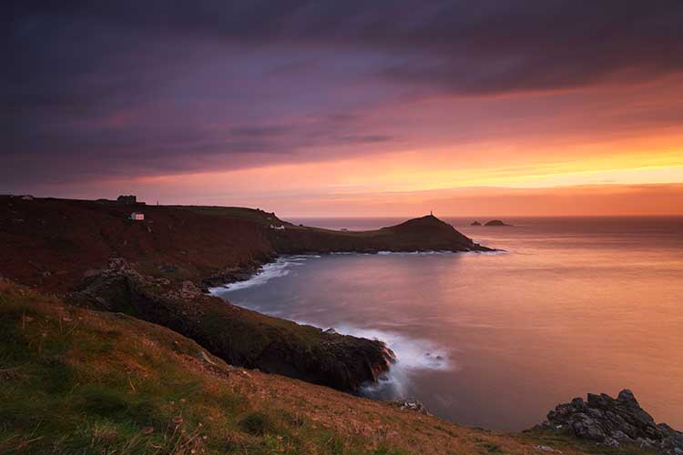 [St Just - Sunset over Cape Cornwall #4]